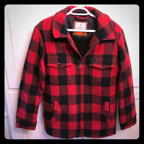 Legendary Whitetails Other - Legendary Whitetails Red Plaid Jacket
